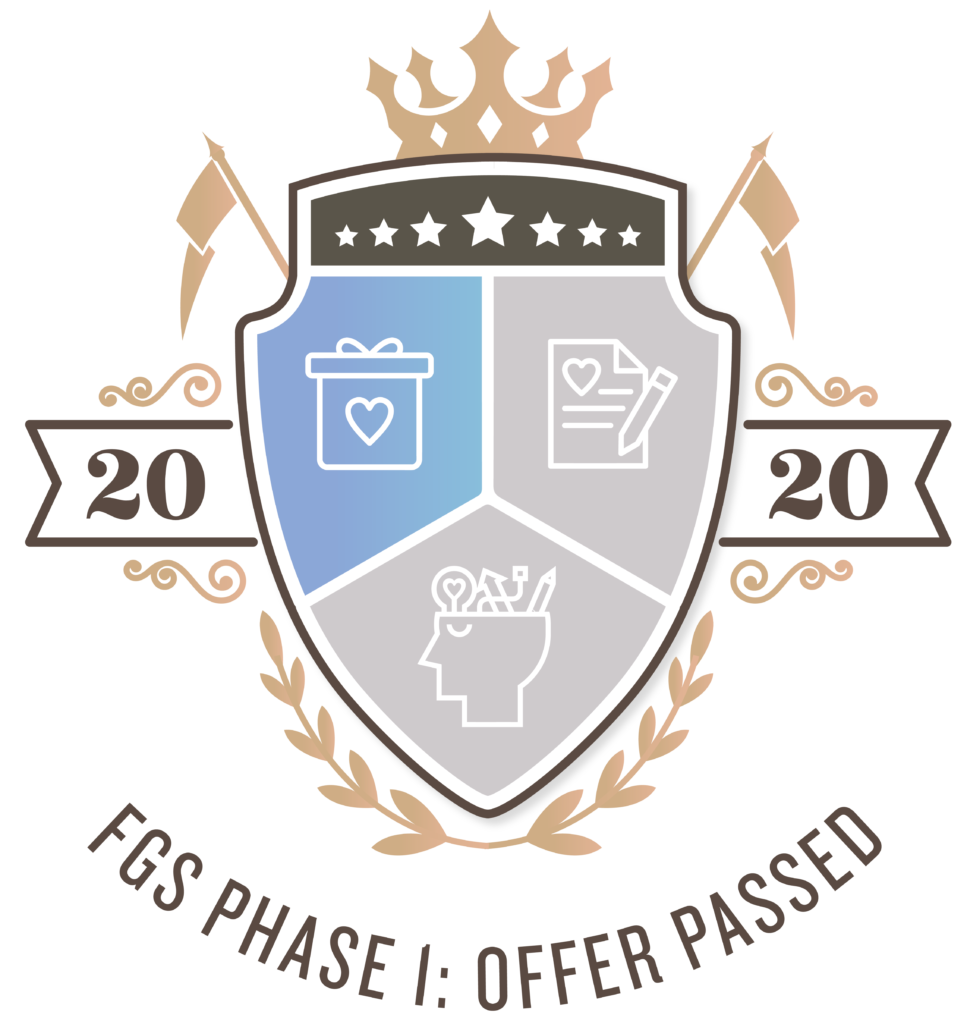 FG Society Crest 2020 signifies Offer Creation Passed